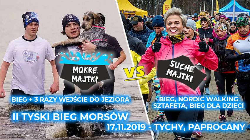 II Tyski Bieg Morsów - Mokre Majtki + Suche Majtki
